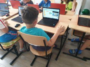 Curs de programare pentru copii IOTESA Kids la Fritzi Afterschool Timișoara - Animații creative1