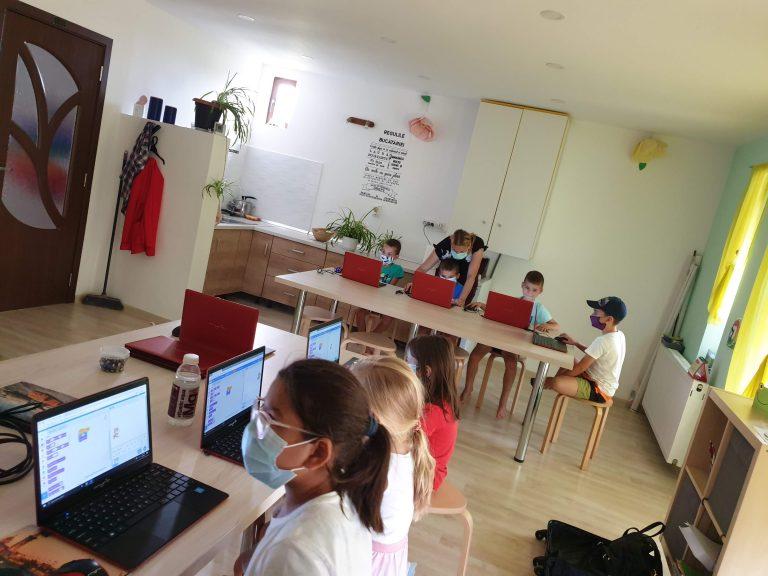 Curs de programare pentru copii IOTESA Kids la Das Kindernest Giroc2