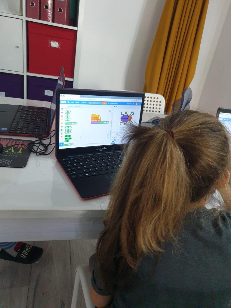 Curs de programare cu Iotesa Kids la Afterschool Exploratorii Cunoașterii Timișoara - Jocul cu animale1