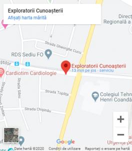 Locatie Afterschool Exploratorii Cunoasterii Timisoara
