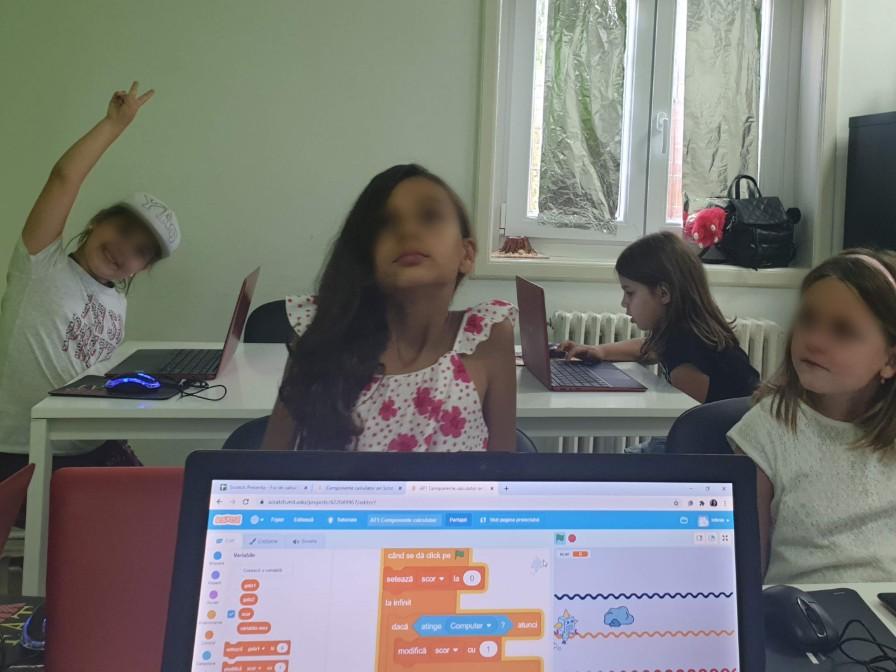 Curs de programare cu Iotesa Kids la Adventures After School Timișoara - Computerul și ajutoarele lui1