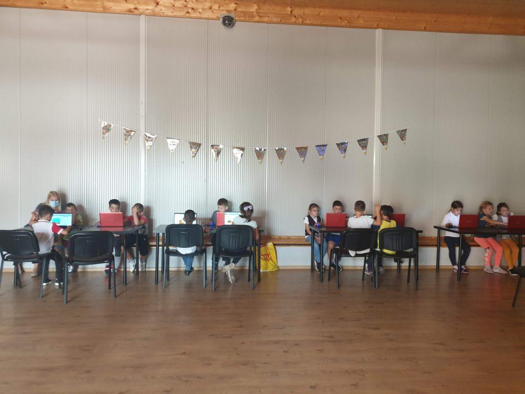 Lecția demonstrativă de programare cu Iotesa Kids la After School Adventures Timișoara - Programare drona2