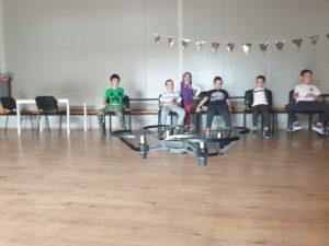 Lecția demonstrativă de programare cu Iotesa Kids la After School Adventures Timișoara - Programare drona4