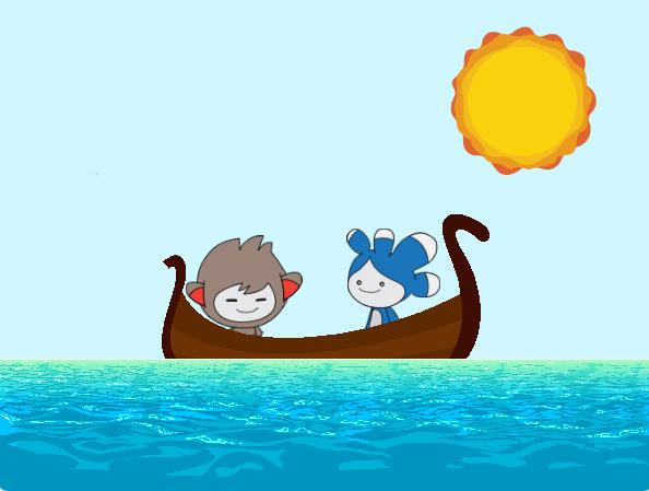 Curs de programare pentru copii cu Iotesa Kids la Adventures After School Timișoara - Animație cu barca pe mare6