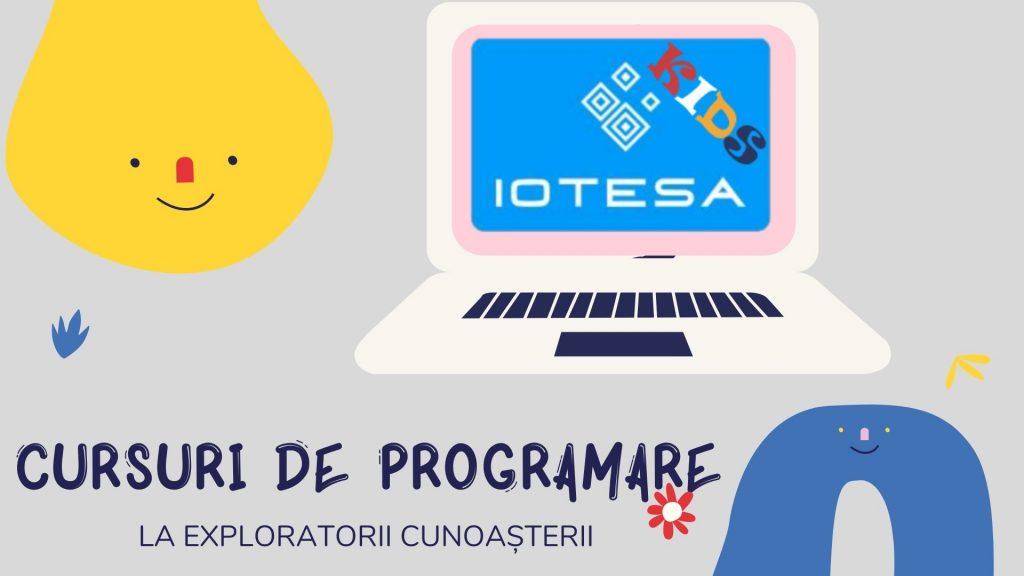 Curs programare copii cu Iotesa Kids la Exploratorii Cunoașterii Timișoara - Animalut virtual1