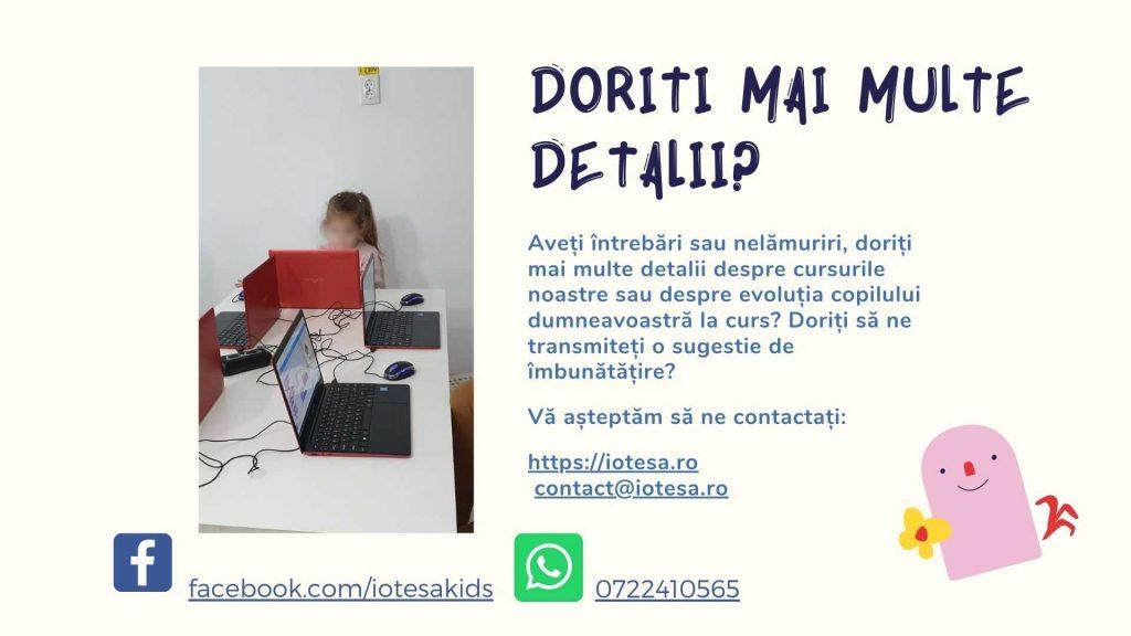 Curs programare copii cu Iotesa Kids la Exploratorii Cunoașterii Timișoara - Animalut virtual5