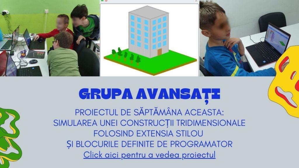 CURS PROGRAMARE COPII CU IOTESA KIDS LA AFTER SCHOOL ADVENTURES TIMIȘOARA - EXTENSIA STILOU5