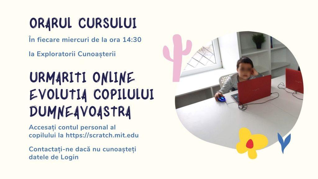 Curs programare copii cu Iotesa Kids la Exploratorii Cunoașterii Timișoara - Animalut virtual6
