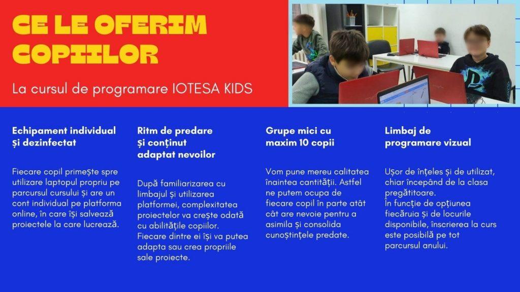 CURS PROGRAMARE COPII CU IOTESA KIDS LA AFTER SCHOOL ADVENTURES TIMIȘOARA - EXTENSIA STILOU8