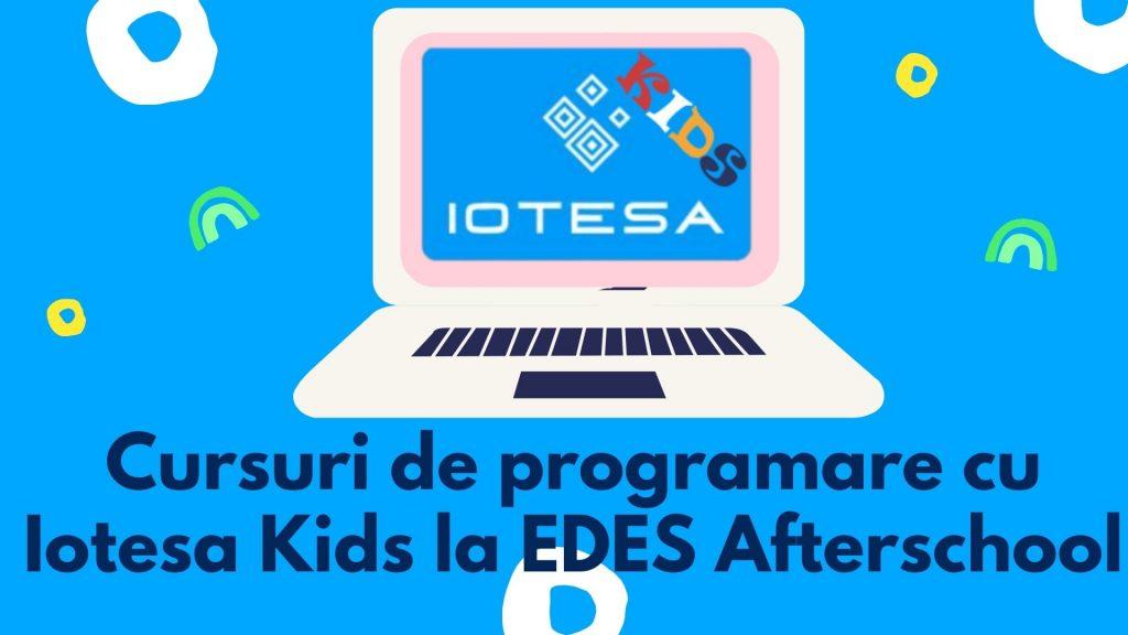 Curs programare copii cu Iotesa Kids la Edes After School Timișoara - Trenulețul multicolor10