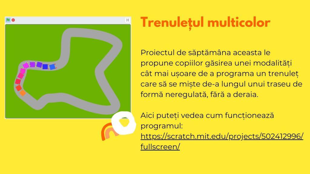 Curs programare copii cu Iotesa Kids la Edes After School Timișoara - Trenulețul multicolor9