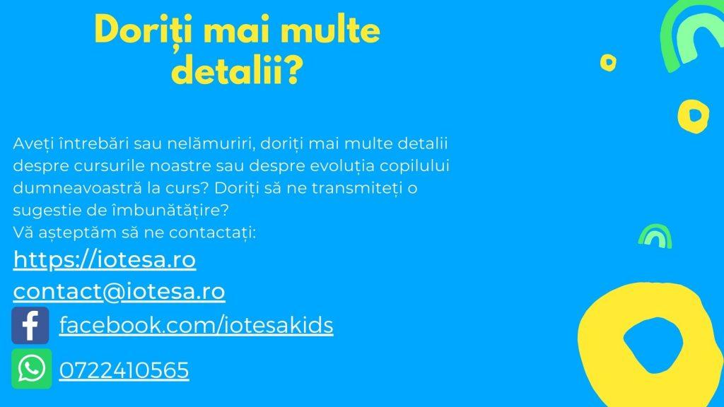 Curs programare copii cu Iotesa Kids la Edes After School Timișoara - Trenulețul multicolor7