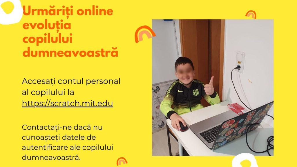 Curs programare copii cu Iotesa Kids la Edes After School Timișoara - Trenulețul multicolor5