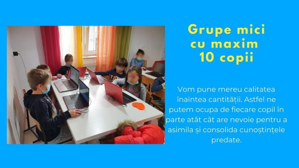 Curs programare copii cu Iotesa Kids la Edes After School Timișoara - Trenulețul multicolor3