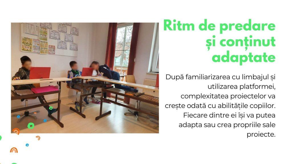 Curs programare copii cu Iotesa Kids la Edes After School Timișoara - Trenulețul multicolor2