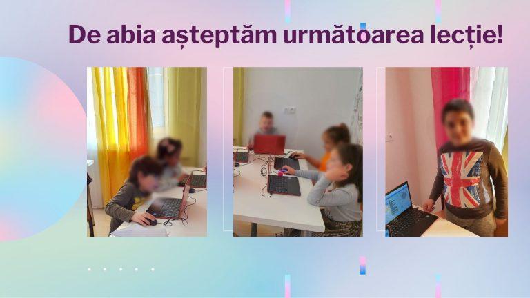CURS PROGRAMARE COPII CU IOTESA KIDS LA EDES AFTER SCHOOL TIMIȘOARA - MOTIVE GEOMETRICE CU CLONE8